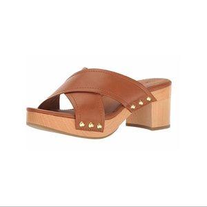Frye Fiona Slide Platform Sandal Size 7.5